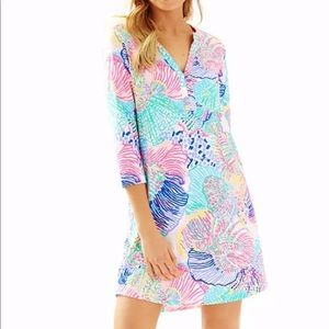 Lilly Pulitzer Ali Dress Roar of the Sea XL